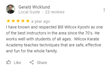 7, Wilcox Karate Academy in Independence, MO