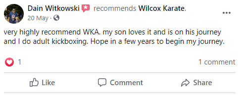 8, Wilcox Karate Academy in Independence, MO