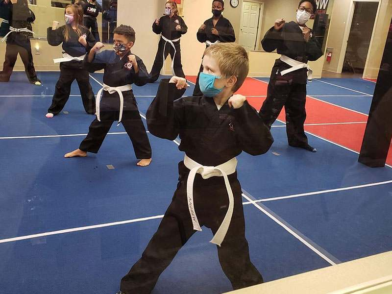kids martial arts training in independance