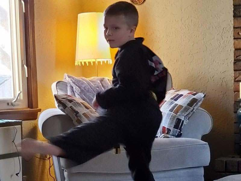 kids virtual martial arts training in independance